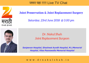 Joint Preservation and Joint Replacement Surgery on ZEE TV